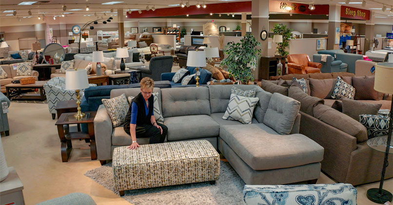 Living Room Furniture - VanDrie Home Furnishings - Cadillac